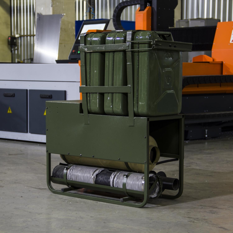 Установка отопительно вентиляционная ОВУ-65ЛК