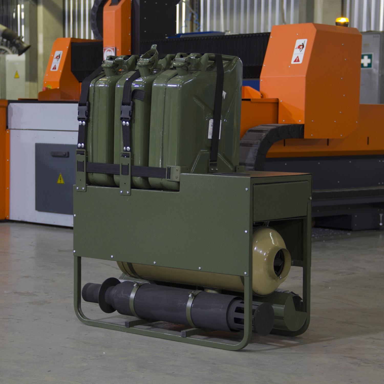 Установка отопительно вентиляционная ОВУ-65ЛР